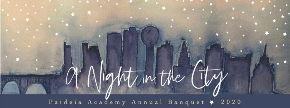 classical Christian school annual banquet